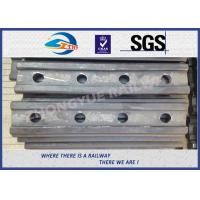 Standard BS100A Railway Fish Plate For Rail Fastener / Rail Joint Bar Manufactures
