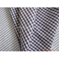 Competitive Price 100% Cotton Yarn Dyed Fabric  Plain Weave Check Ladies Fashion Fabric Manufactures