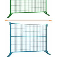 Galvanized Canada temporary fencing,high standard construction fence,removable fence