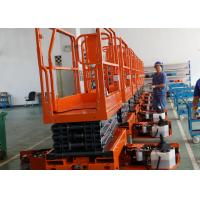 One Person Scissor Lift Extension Platform Aerial Work High Working Efficiency Manufactures