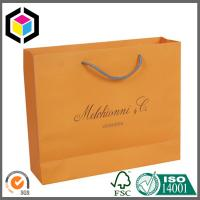 Custom Color Design Shopping Paper Bag; Luxury Paper Shopping Bag for Promotion Manufactures
