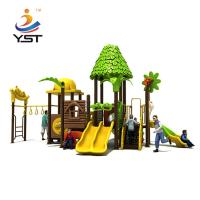 China Interesting Kids Outdoor Play Slide Galvanized Steel Pipe Easy Installation on sale