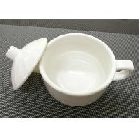 China 4''  White Stackable Porcelain Soup Bowl Porcelain China Dinnerware Sets Weight 259g on sale