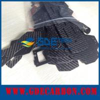 custom Carbon fiber frame cnc cutting Manufactures