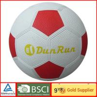 Custom muti color Rubber training youth Soccer Ball 5# outdoor foot ball Manufactures