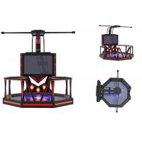 Theme Park Virtual Reality Game Simulator Steel Material Shooting Game Machine Manufactures