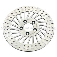 Harley Davidson Sportster Accessories Silver Stainless Steel Rear Brakes Disc Manufactures