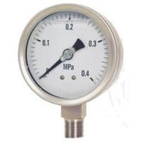 All stainless steel liquid filled vibration-proof pressure gauge Manufactures