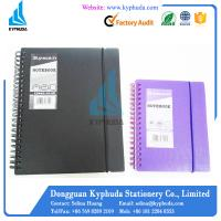 Hard PP Cover A5 A6 spiral notebook Manufactures