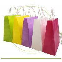 Strong Sealing Matt Kraft Paper Bags Large Size Customized Print Accepted Manufactures