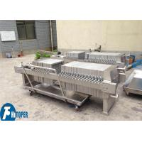 China Stainless Steel hydraulic automatic Chamber Filter Press equipment For solid liquid separation on sale