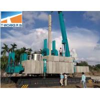 No Pollution Hydraulic Press In Pile Driver For Concrete Pile Foundation Manufactures