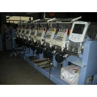 Industrial 2 4 6 8 Head Embroidery Machine For Hats And Shirts CT1208 Manufactures