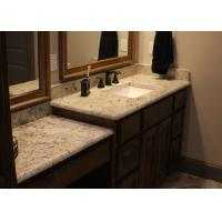 Natural Straight Marble Stone Countertops / Stone Vanity Tops Manufactures