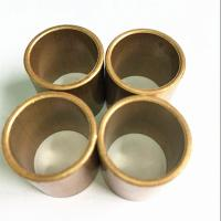 China Durable Slide Copper Bushing For Marine Gearbox / Flanged Brass Bimetal Bush on sale