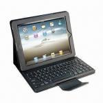 Detachable Bluetooth Keyboard, PU Leather Case Cover for iPad/ iPad2/iPad3 Manufactures