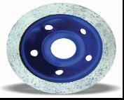 Continuous Diamond Blade Grinding Wheel For Porcelain Tile / Granite / Marble Manufactures
