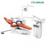 CX-2305(18) comfortable ergonomic principles Dental Chair Unit for Clinic Manufactures
