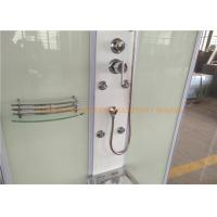 Quality 1200 x 800mm rectangular steam shower bath cabin computer controlled for sale