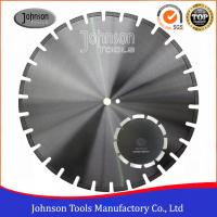 Fast Asphalt Cutting Blades 105 - 600mm Laser Welded Diamond Saw Blade