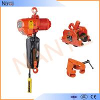 Chain Bag Electric Chain Hoist With Limit Switch , High Strength Shell Manufactures