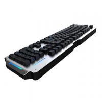 RGB Metal Mechanical Keyboard 104 Keys Waterproof Blue Switch Anti Ghosting Manufactures
