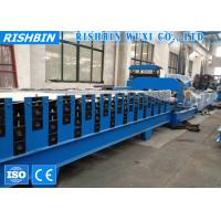 China Colored Steel Double Layer Roof Panel Roll Forming Equipment Hydraulic Cutting on sale