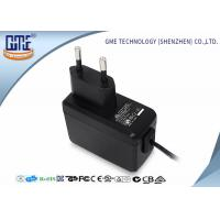 EN60950/60065 EU Plug Wall Mount Power Adapter with CE GS Safety Mark Manufactures