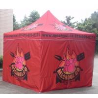 Red 10x10ft Easy Folding garden Pop Up Gazebo Tent Dye Sublimation Printing Manufactures