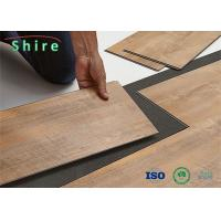 Non - Slip Luxury Vinyl Flooring 100% Virgin Vinyl Click Lock LVP Flooring Manufactures