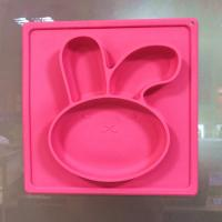 China High Quality Silicone Suction Plate Baby Plate Mat Non Slip Placemats For Toddlers on sale