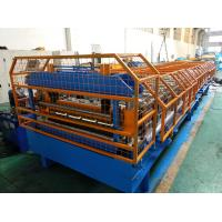 To USA Trapezoidal Roofing Sheet Roll Forming Machine With Manual Pre-cutting Device Manufactures