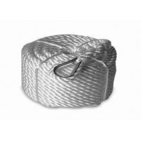 "hot selling 3/4""x150' Twisted 3 Strand Nylon Anchor Rope with Thimble Manufactures"