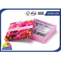 CMYK Printing Plastic Tray Custom Paper Gift Box for Cosmetic Skincare Promotional Manufactures