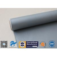 Chemical Resistant Grey Silicone Coated Fiberglass Fabric Electric Insulation Manufactures