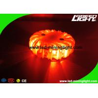 Custom Waterproof Led Warning Light Rechargeable Orange Color 3 Year Shelf Life Manufactures