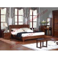 Antique Solid Wood Bed in Wooden Bedroom Furniture sets Manufactures