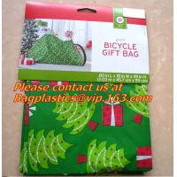 China waterproof outdoor road bicycle bags, bicycle gift bags, bike bags, Giant Santa Sack for Christmas Gift Packing on sale
