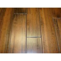 China Carved Wood Grainy Solid Bamboo Flooring on sale