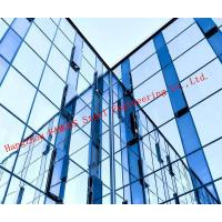 Modern Hidden Frame Tempered Double Layer Glass Aluminum Curtain Wall EPS Project Manufactures