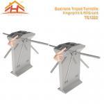 Speed Gate Office Pedestrian Access Control Turnstile , Stainless Steel Turnstiles Manufactures