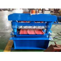 Wall Cadding Trapezoid Metal Forming Panel Roof Making Machine for sale