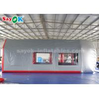 China Mobile Inflatable Spray Paint Booth with Sponge Filter for Car Maintenance on sale