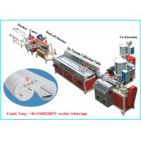 Plastic Profile PVC Profile Extrusion Line PVC Price Tags Holder Extruder Manufactures