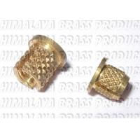 M4,M6,M8,M10 Flang head press in brass insert Manufactures