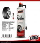Aeropak Fix Flat Tyre Sealer Inflator With Eco-friendly Formula 650ml Manufactures