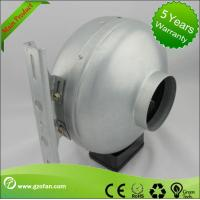 Corrosion Resistance Plastic Shell Inline Circular Duct Fan For Hydroponic Plants Manufactures