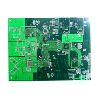 Electronic circuit boards FR4 PCB Board with BGA Plugging Vias 1 - 28 Layer Manufactures
