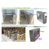 Scenic Entrance Three Arm Tripod Turnstile gate automation systems For School And Tourism Manufactures