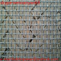 China 65Mn heavy industrial screens vibrating screen wire mesh/crimped black iron woven cloth wire mesh from factory on sale
